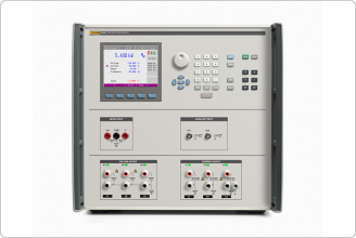6003A Three Phase Electrical Power Calibrator (front)