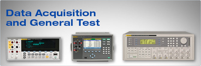 Data Acquisition And Trending : Data acquisition general purpose test equipment fluke
