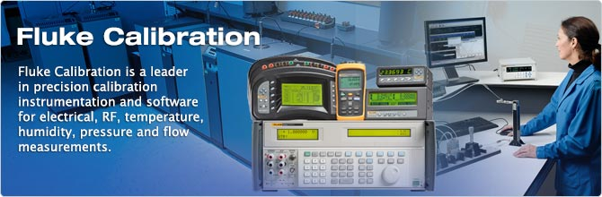 Fluke Calibration: Seven Measurement Disciplines, One Brand