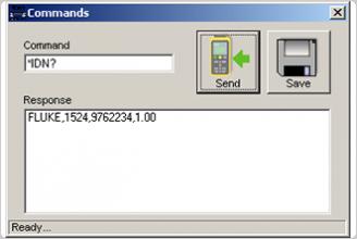 9940 IO Software Toolkit v1.0, Commands Dialog