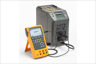 Fluke  9142 Field Metrology Well & Fluke 754 Documenting Process Calibrator